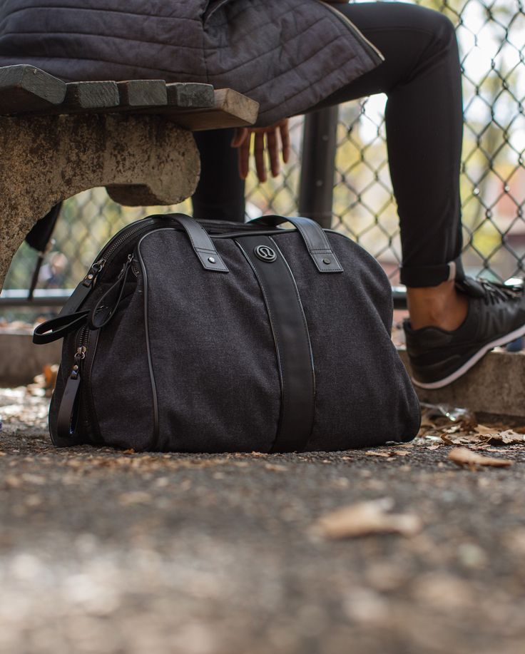 Two Times A Yogi Bag | Carrying our gym bag, yoga mat and purse around all day m...