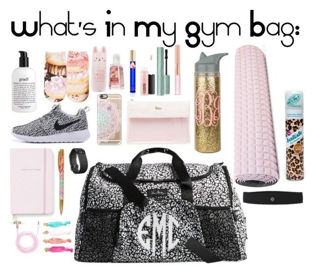 What's In My Gym Bag by acschmidt03 on Polyvore featuring polyvore, Free Press, ...
