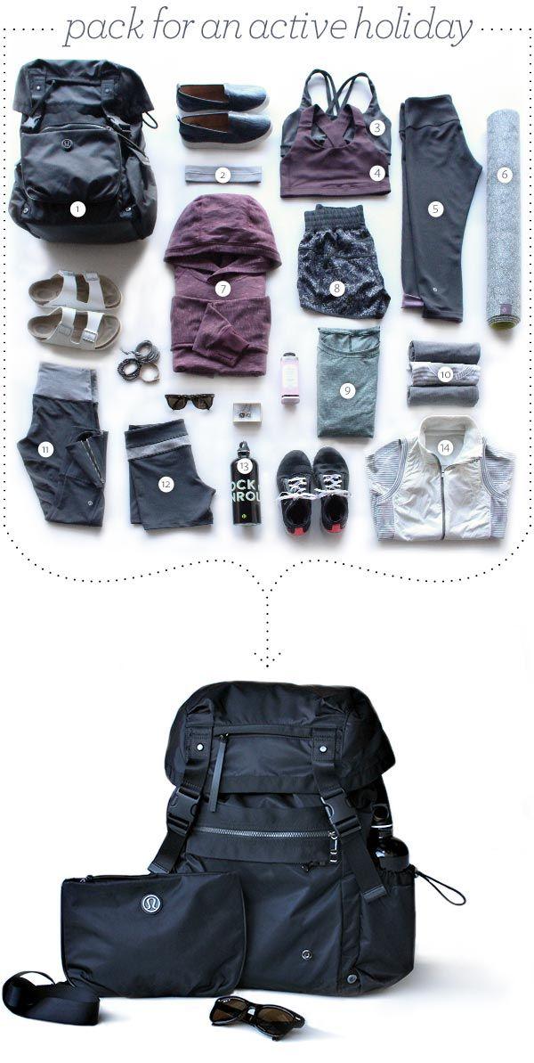 active holiday packing grid lululemon blog asset