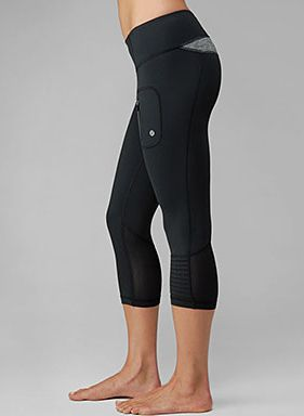 lululemon crops with i love words around waistband - Google Search