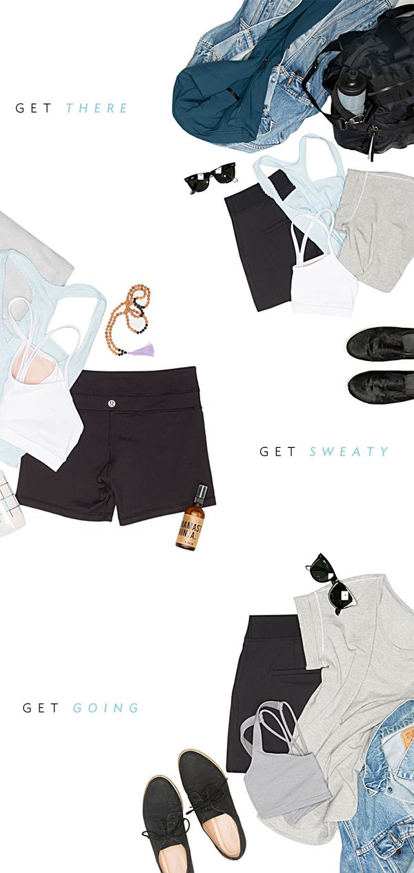 tips for everyday (sweaty) dressing