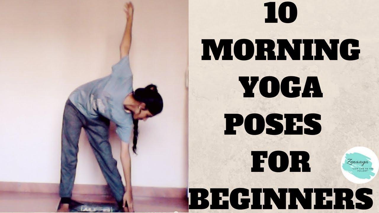 Yoga Poses 10 Morning For Beginnersfor Flexibility