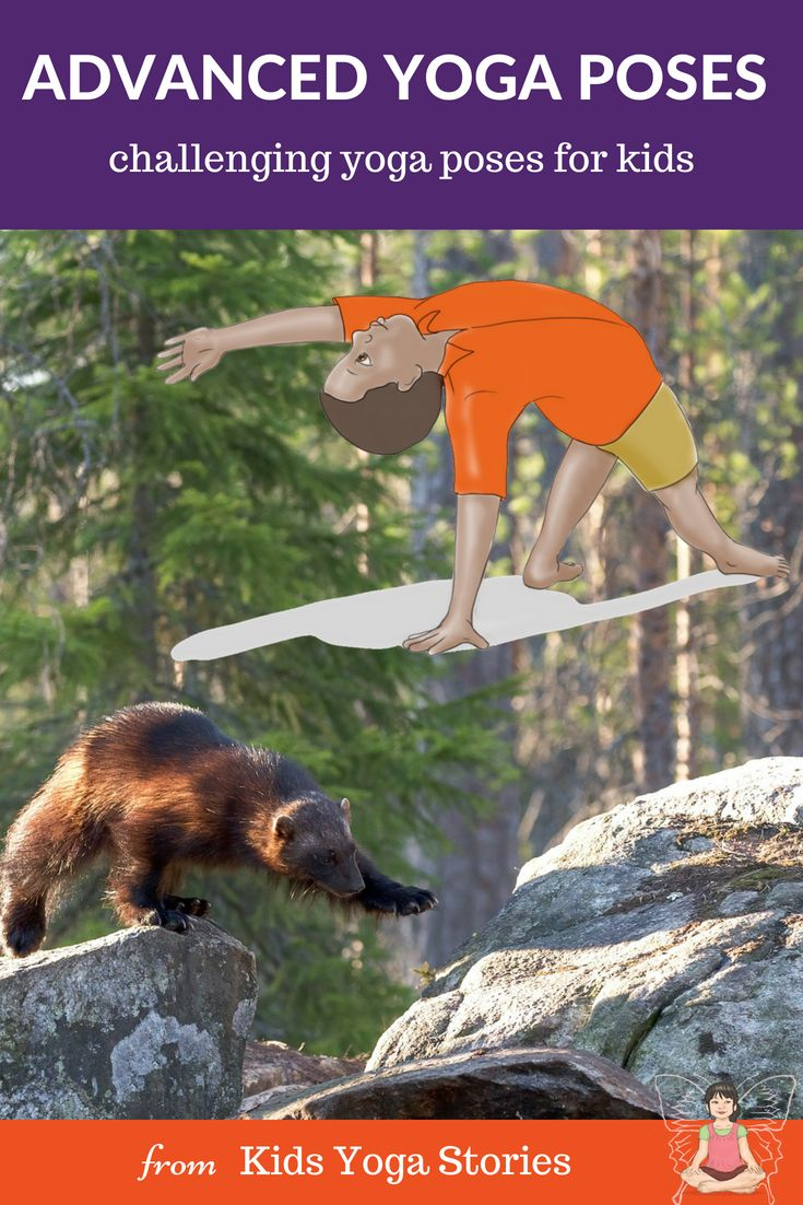 5 FUN and More Advanced Yoga Poses for Kids! Are your kids ready for a fun chall...