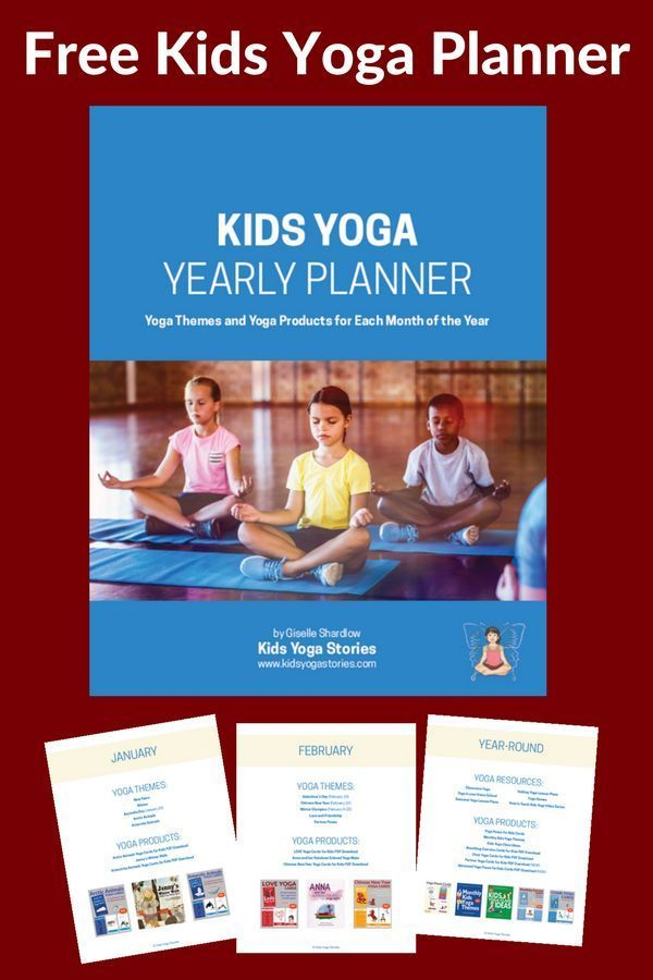 Download your Ultimate Kids Yoga Planner 2018 today - to help with your yearly k...