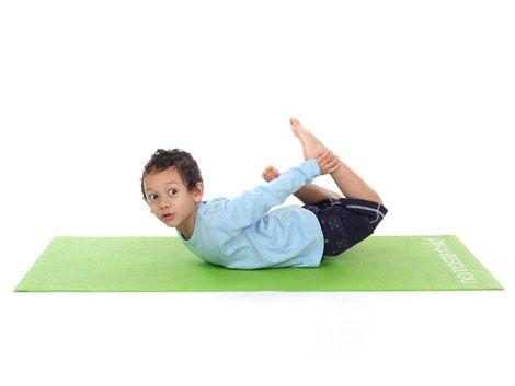 Floor Bow Pose Dhanurasana
