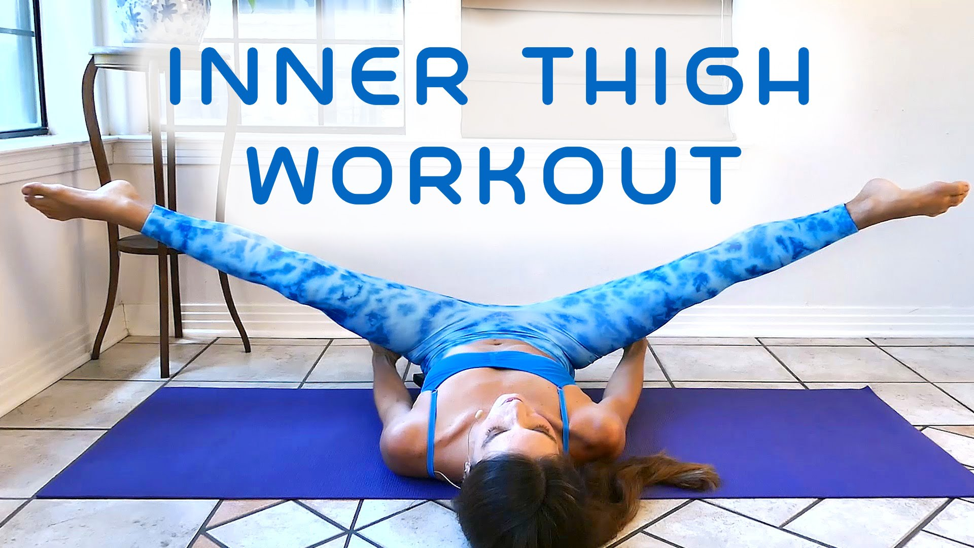 Yoga Poses  Slim Legs & Inner Thighs Workout for Beginners, 50 ...