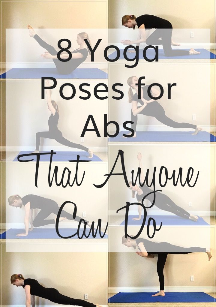 8 Yoga Poses for Abs that Anyone Can Do Click here now! poweredbymangos.w...