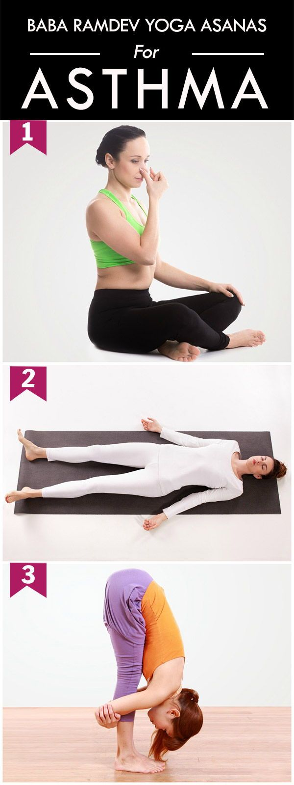 Yoga Poses & Workout  Fight asthma with this yoga poses. yoga ...