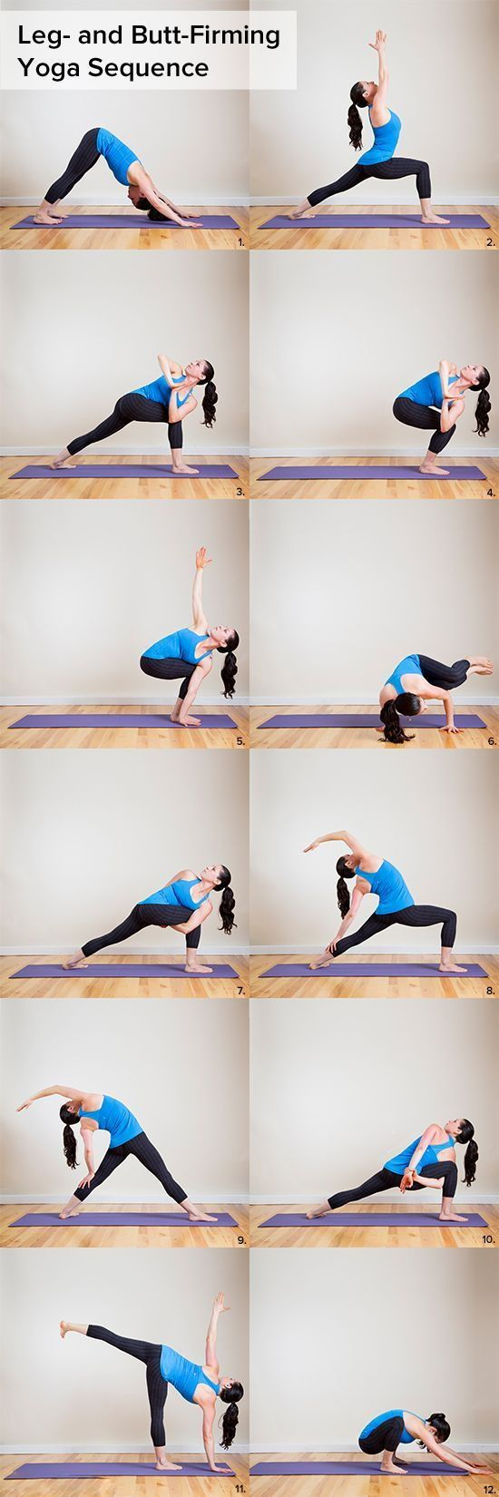 Have a nice butt and legs posture with this poses. #yoga #yogaeverydamnday #yoga...