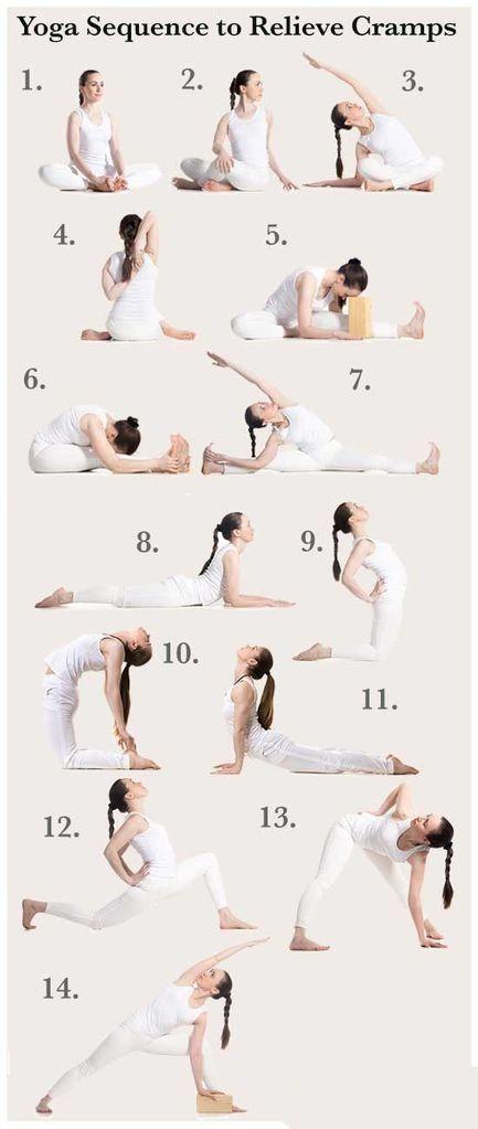 Relieve those #cramps! #yoga #yogaeverydamnday #yogalove #yogachallenge #yogalif...