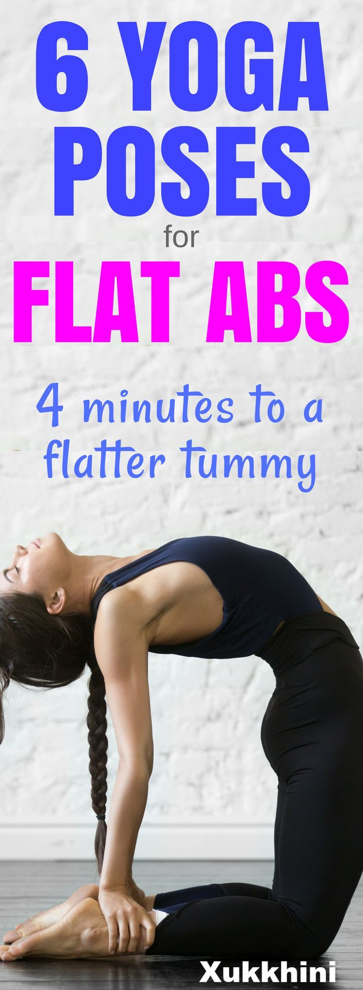These tummy-tightening yoga poses for flat abs target your core, and will give y...