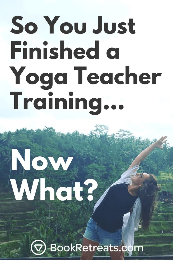This is the ultimate guide to launch your yoga teaching career, with everything ...