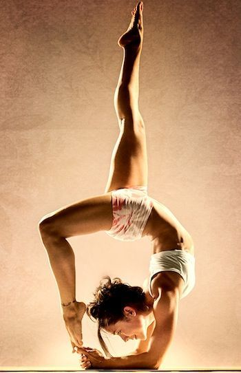wow. I do a few inversions, it's not really a focus in my practice, but thes...