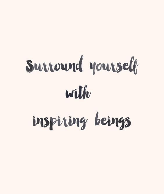 DownDog Inspirations: Surround yourself with inspiring beings...