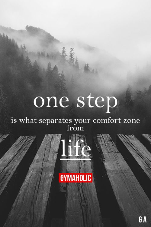 Your Life should be Your comfort Zone. And ONLY yours to choose and live whether...