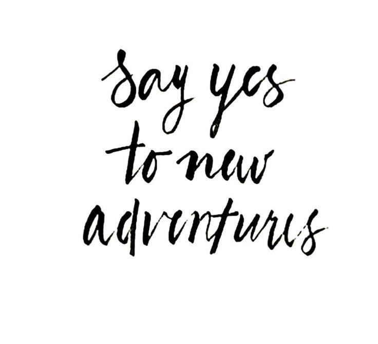 #adventure #newyear #newchallenge #sayyesmore #yes #artist #artbylaurath #f4f #m...