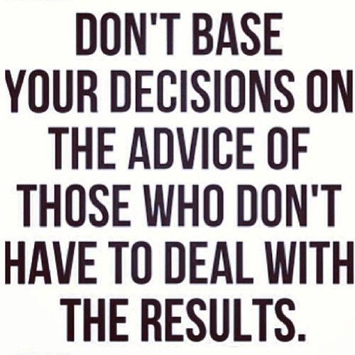 alittlebitfurther:  Repost from @Allison McGevna  #truth #advice #decisions