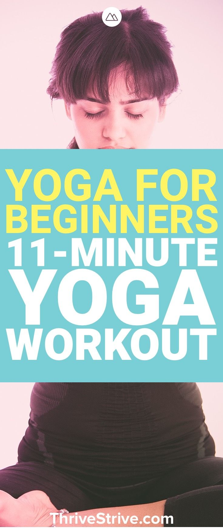 Ready to get started with yoga? This yoga for beginners workout is just the thin...