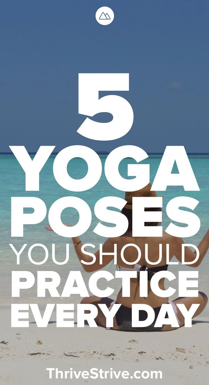 Ready to get started with yoga? Here are 5 yoga poses for beginners that you sho...