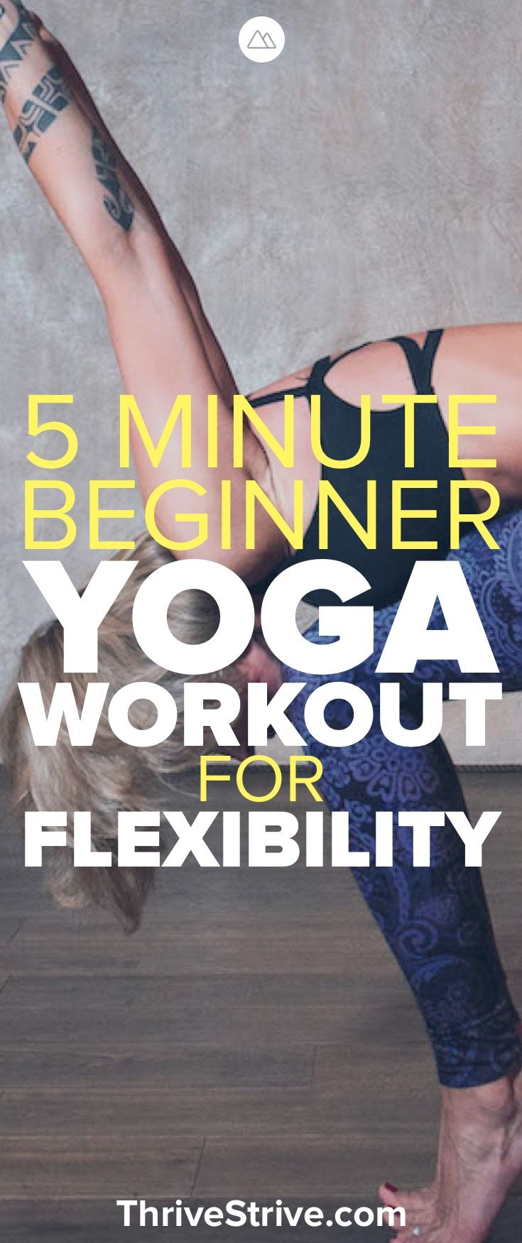 Looking for a yoga workout for flexibility? Here is a yoga workout for beginners...