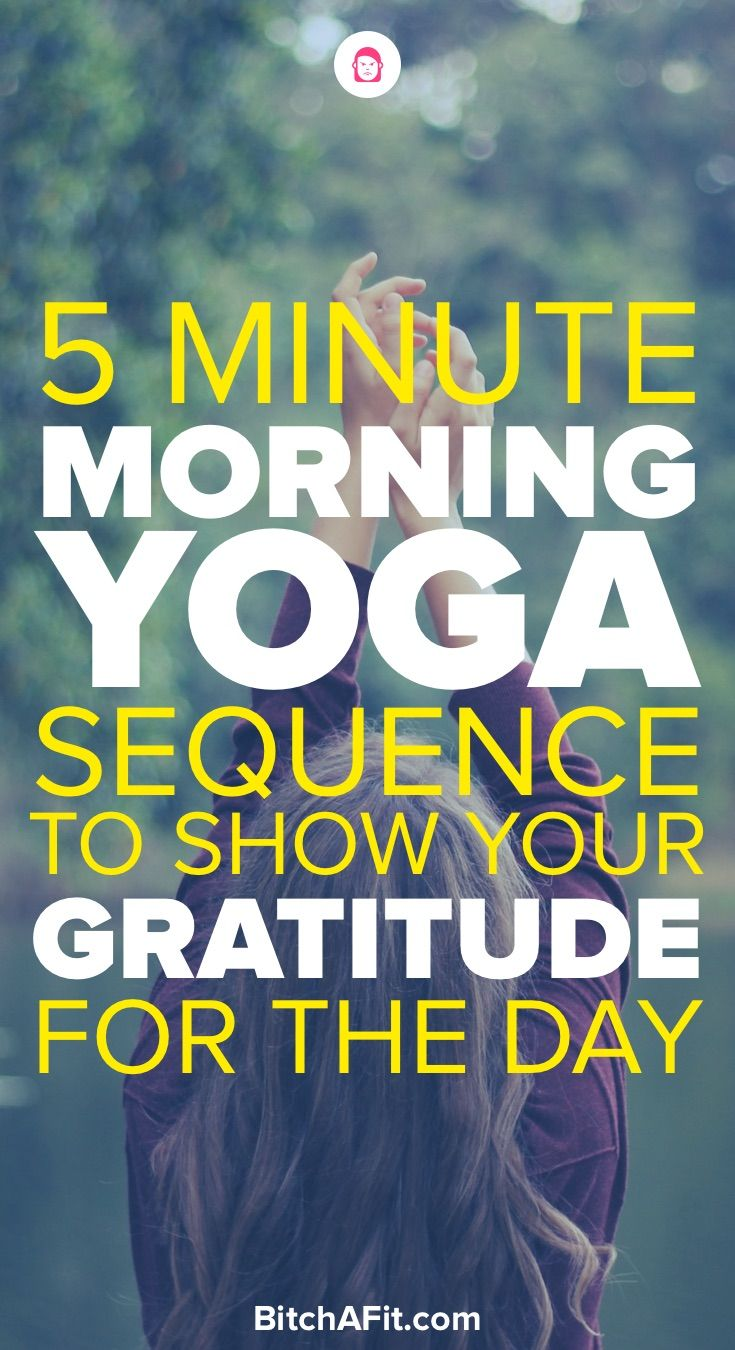 Doing morning yoga is a great way to start your day. This morning yoga sequence ...