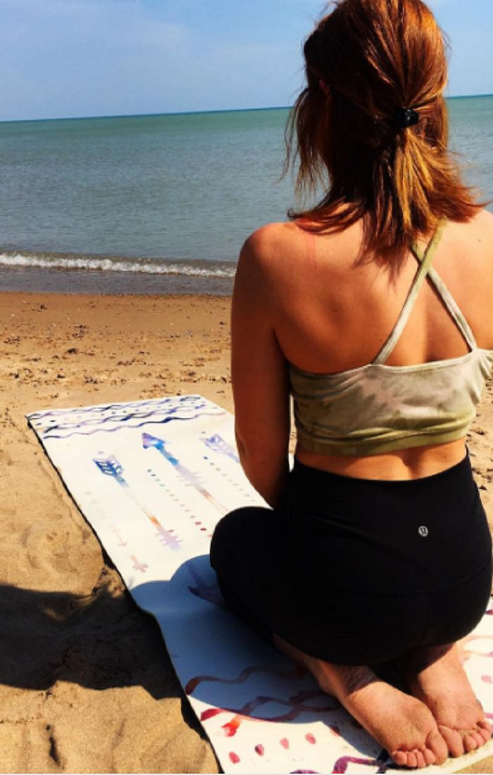 Gypsea Yoga Goods produces eco-friendly yoga mats for coral reef conservation. T...