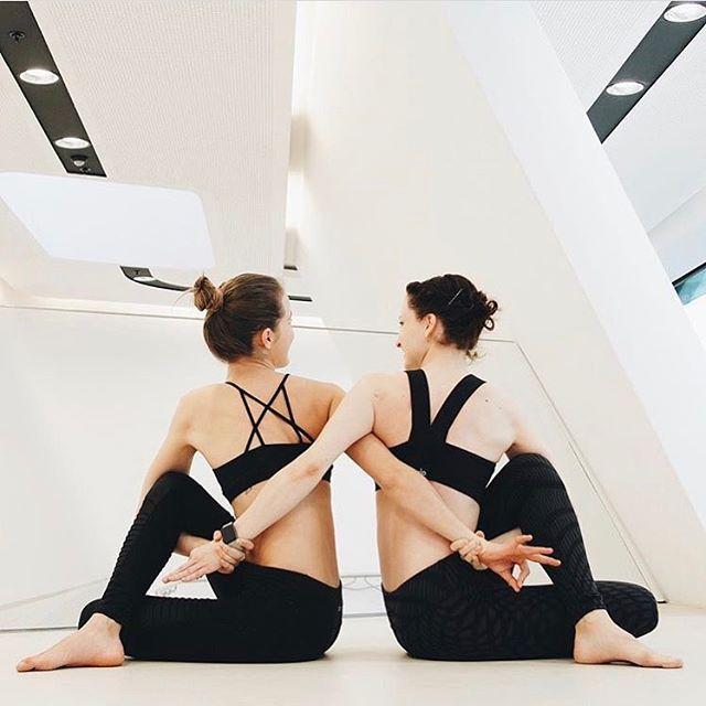 Double trouble sarahticha and Lenka Minarikova are featured in our Goddess Bra &...