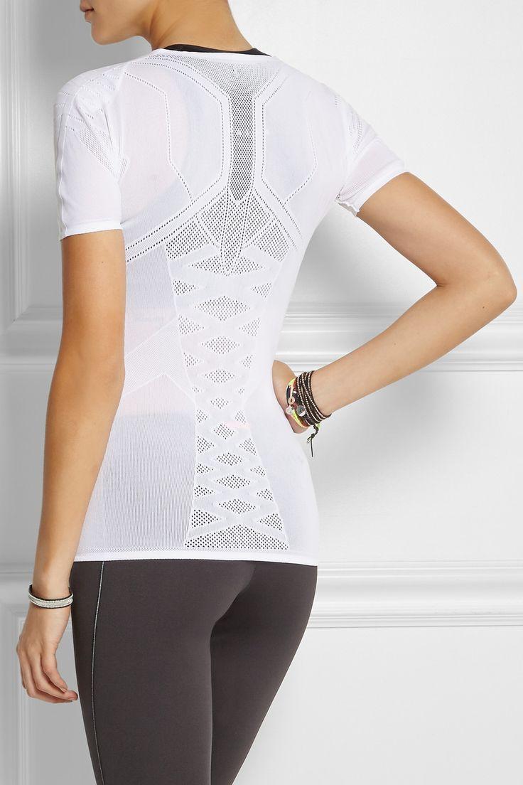 FALKE Ergonomic Sport System   Running mesh-paneled jersey t-shirt #NETASPORTER.