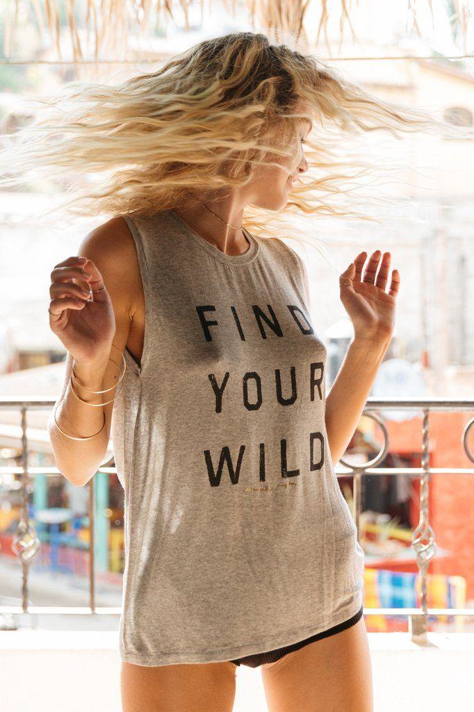 Find Your Wild Chakra Tank - Spiritual Gangster - 1