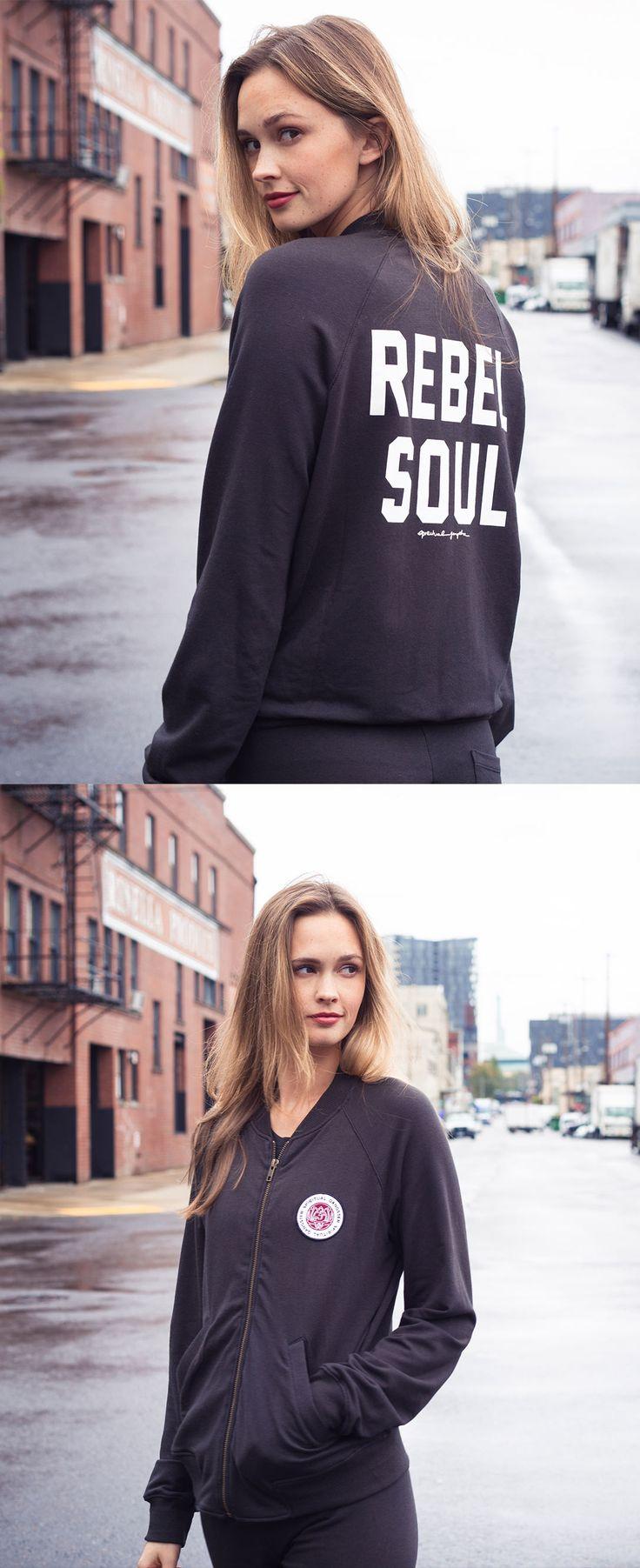 Let your rebel side show, babe. Shop the look at evolvefitwear.com