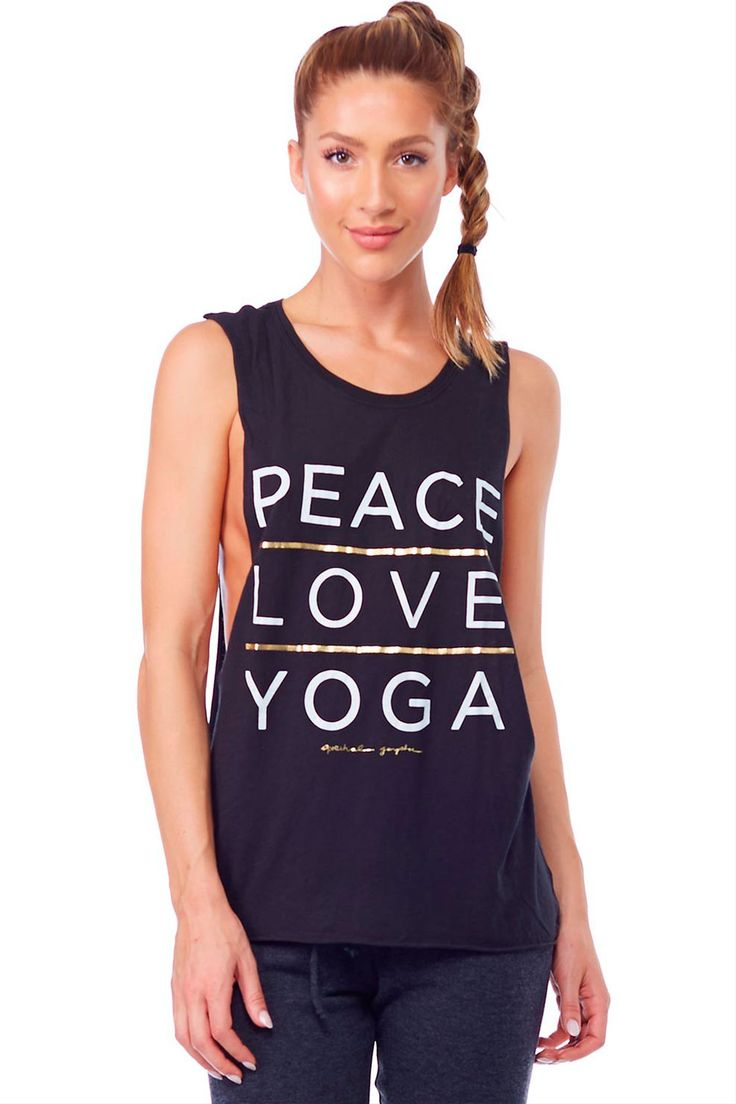 New collection from Spiritual Gangster on the site! We love this Peace, Love, Yo...
