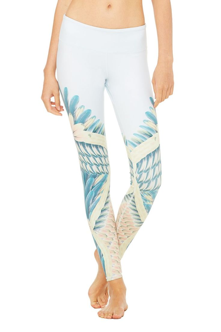 Part of the Gypset Goddess Capsule collection, these Airbrush Leggings feature a...