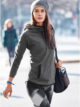 Sentry Hoodie Sweatshirt and Sonar Magnetic Tight | Athleta...French terry beani...