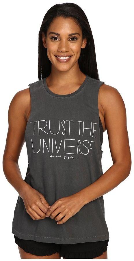 Spiritual Gangster Trust The Universe Tank