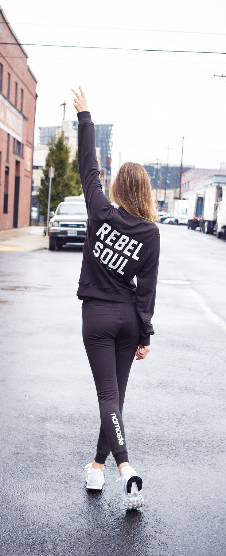 They said I couldn't so I did. Show your rebel side, shop the look at www.ev...