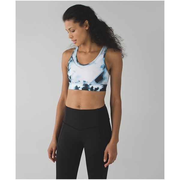 lululemon Strap It Like It's Hot Bra ($54) ❤ liked on Polyvore featuring a...