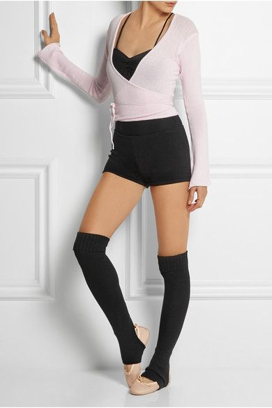 you may just want the whole ensemble: leotard, shorts, sweater, leggings and sho...