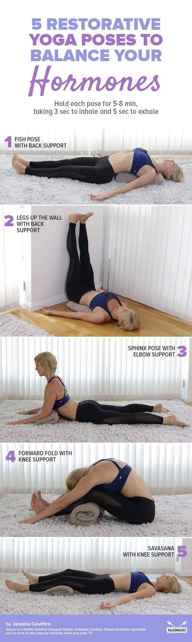Here is a relaxing yoga routine to help get you back on track.