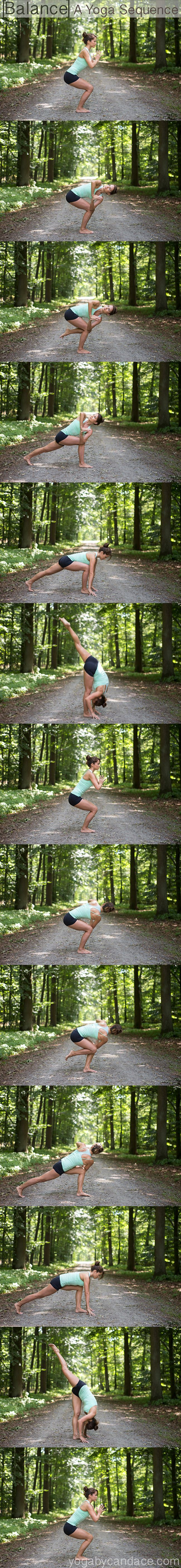 A challenging yoga sequence you can do right from your home.