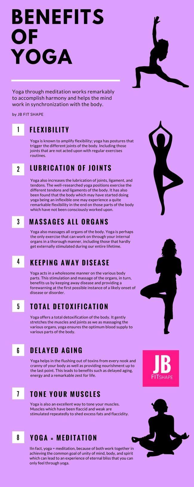Benefits of Yoga Yoga | Benefits | Meditation | Yoga poses | Health | Fitness | ...