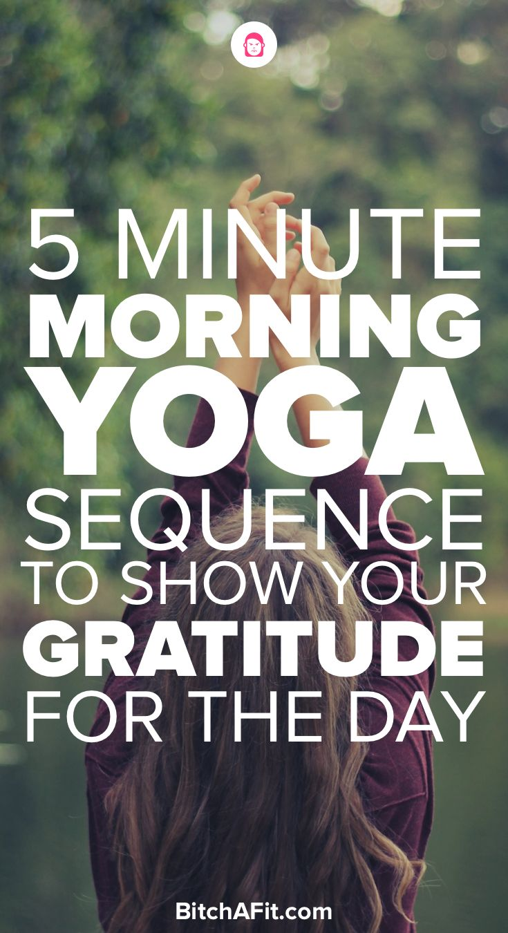 Morning Yoga Flow Sequence