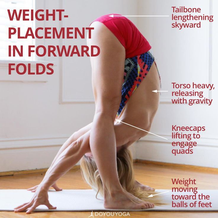 Get the most out of your forward folds with these tips ⭐️  Photo by amazing ...