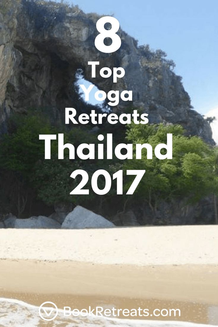 Sooooo Thailand is kinda one of the most beautiful places in the world. Yoga is ...