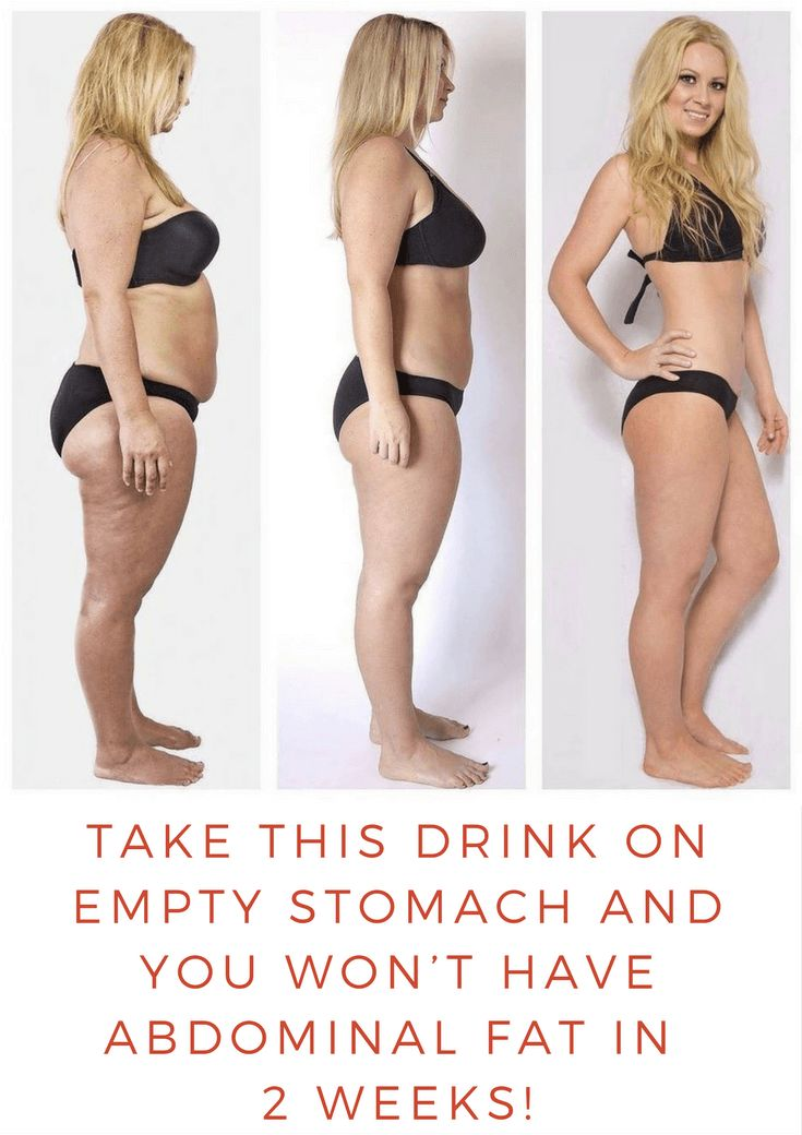 Take This Drink On Empty Stomach And You Won't Have Abdominal Fat In a Two Wee...