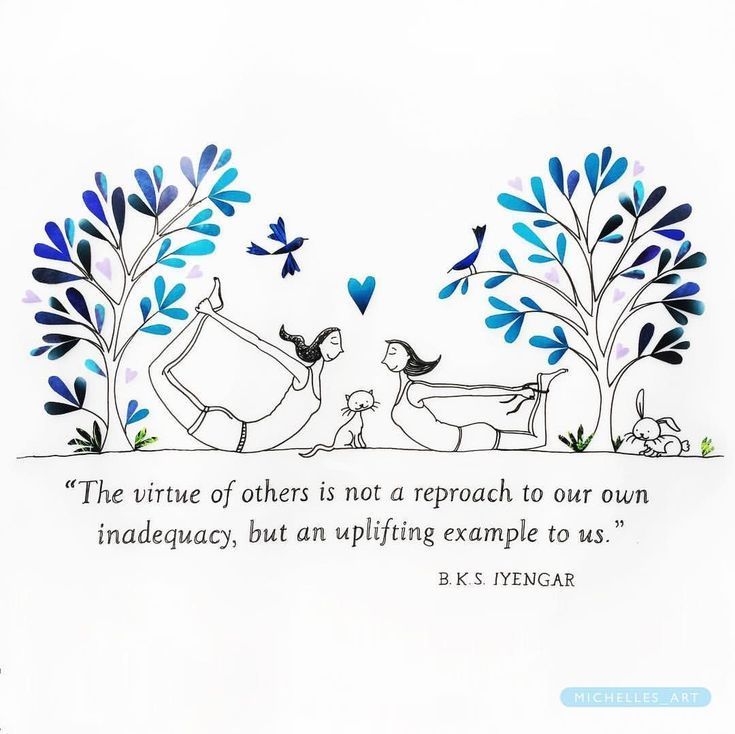 Be an uplifting example to others! #yogaart