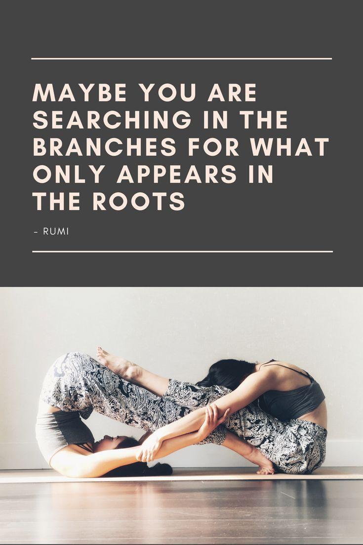 grounding yoga quote
