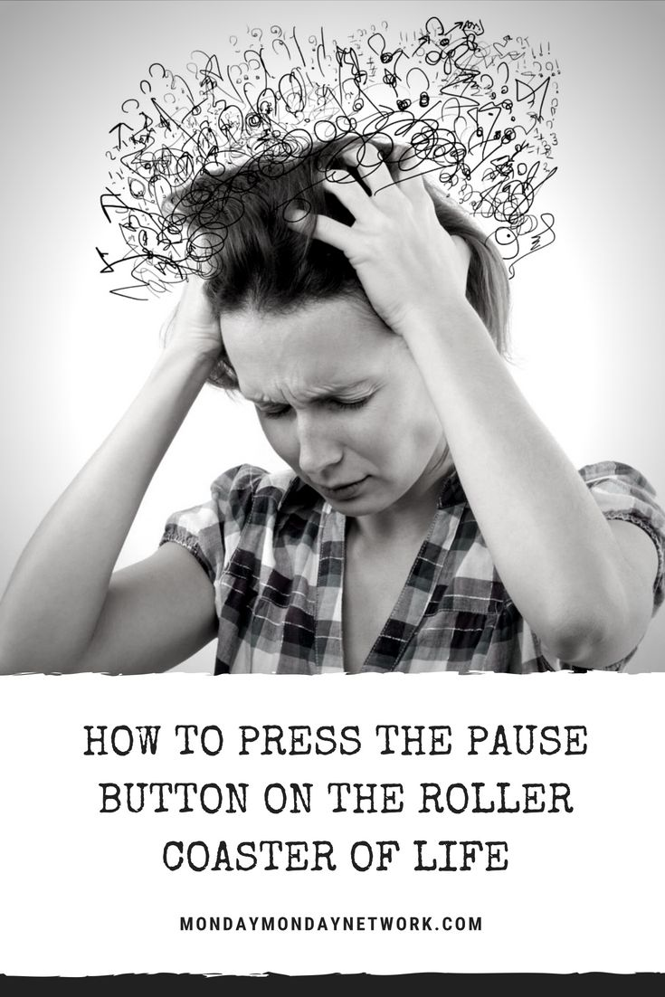What do you do when there is no pause button? Your life is frantic and you are d...