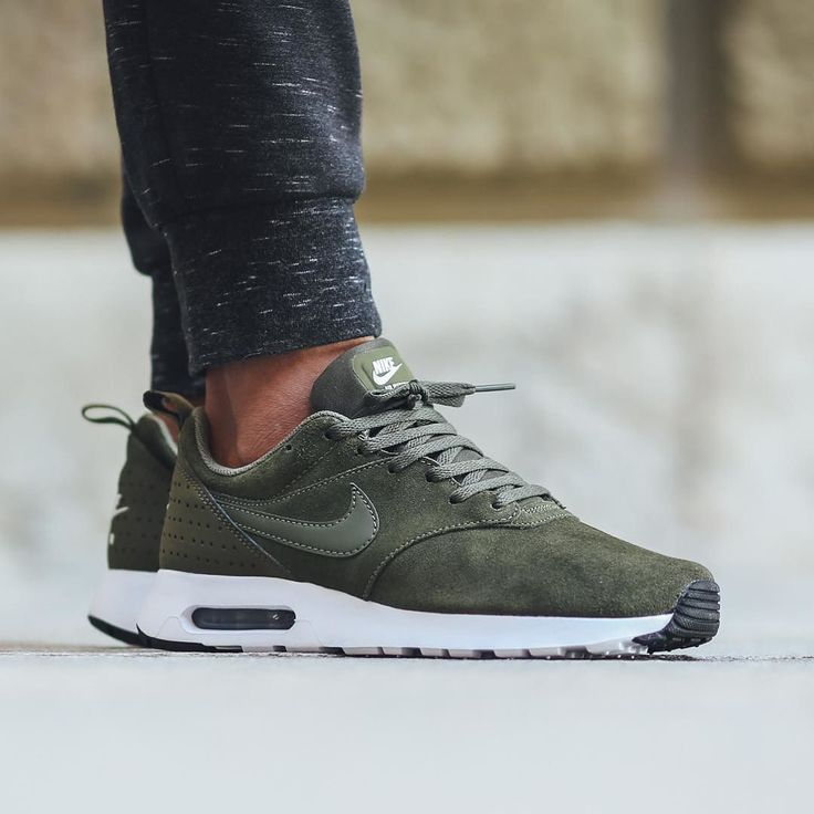 Nike Air Max Tavas Leather - Cargo Khaki/Cargo Khaki available now in-store and...