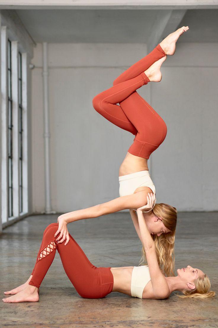 ALO YOGA    @sjanaelise is featured in the High-Waist Airbrush Legging and Peak ...