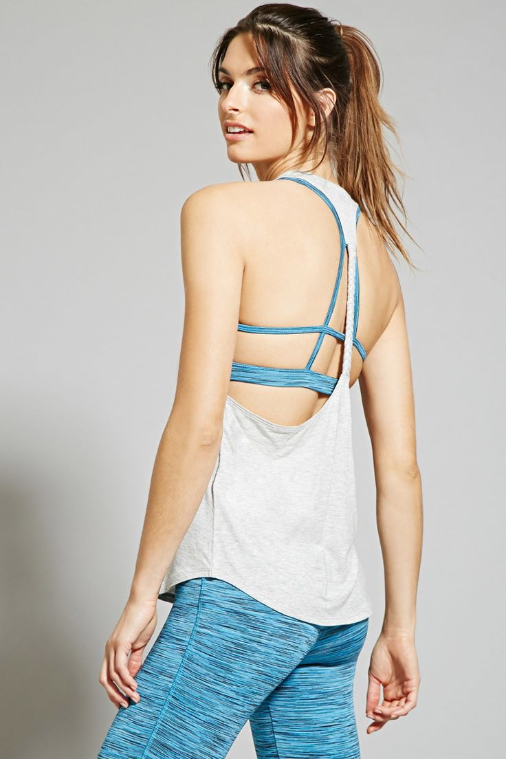 Active Braided Tank - Activewear - 2000150793 - Forever 21 EU English